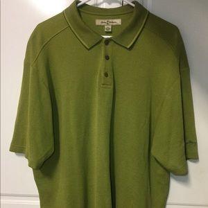 Tommy Bahama Silk Blend Polo-Size XL